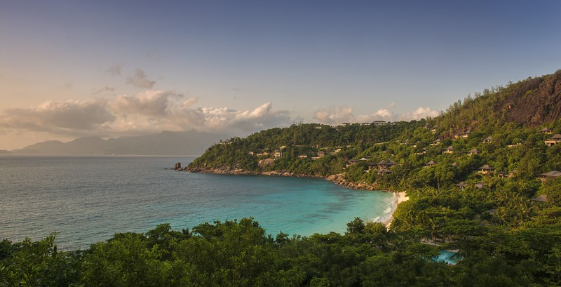 Petite Anse Bay - Resort View