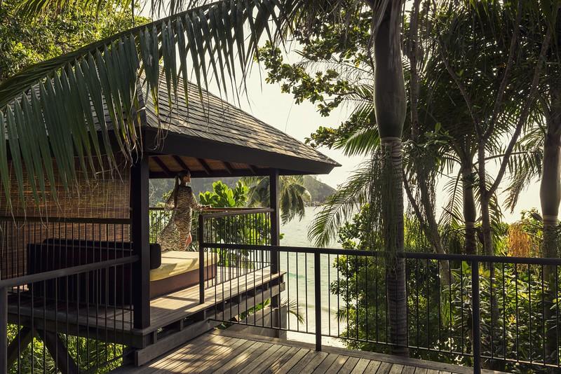 Ocean View Villa Daybed Pavilion