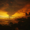 Galle Coastline at Sunset