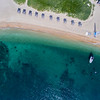 Aerial View to Amanoi private beach