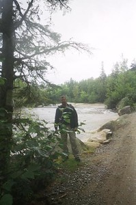 Steve at Ledge Falls