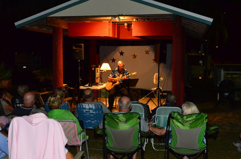 MUSIC UNDER THE STARS,- BAY AIRE RV PARK