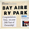BAY AIRE RV PARK TONY ROMANO