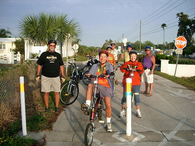 Bike to breakfast Apr.07 Bay Aire Camping Pinellas Trail
