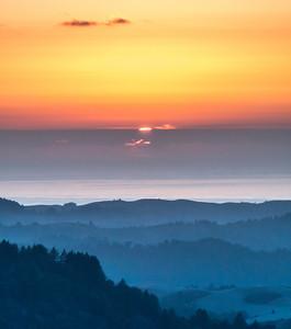 Sunset (pre-hike)