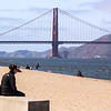 The GG Bridge was the longest suspension bridge built at 4200 feet between its two towers