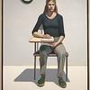 """Student"" by Wayne Thiebaud"