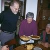 David Marian Jean Christmas dinner 1999