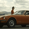 Marian and her Z-Car 1973