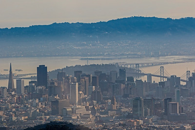First View of Downtown San Francisco