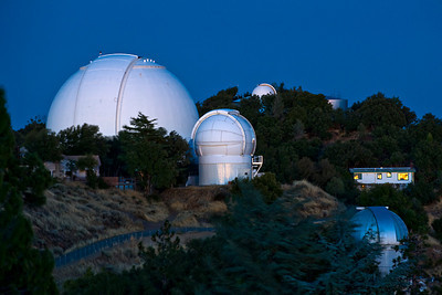 Night Spheres  James Lick Observatory,  Mt. Hamilton