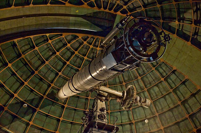 36 Inch Refractor<br /> <br /> James Lick Observatory, Mt. Hamilton<br /> Interesting tid bit, James Lick is entombed below<br /> the floor of the observatory.