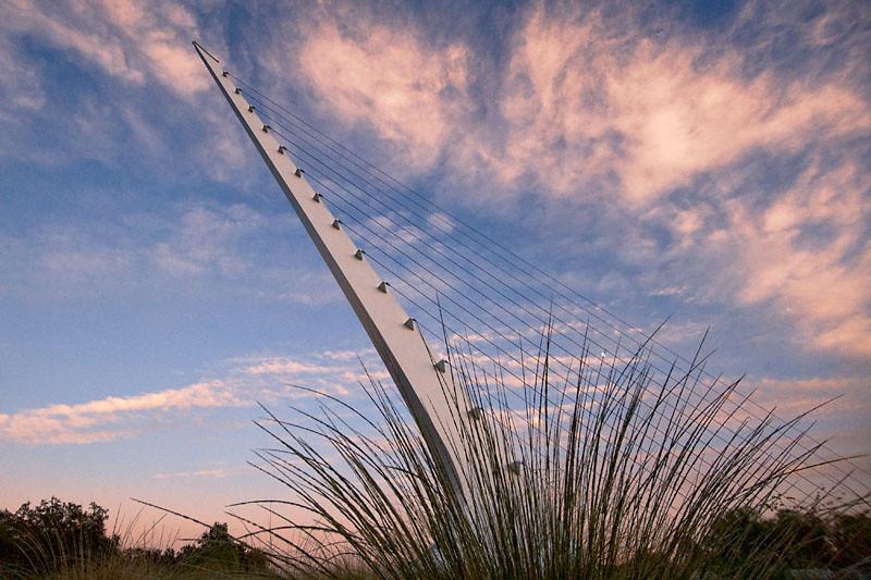 Sundial Sprout II<br /> Sundial Bridge, Redding, CA