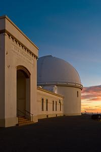 Lick Observatory Sunset, Mt. Hamilton