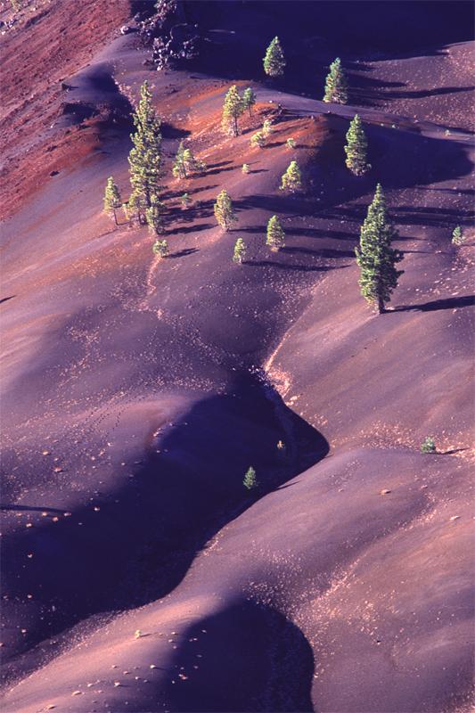 Painted Dunes, Lassen National Park, California