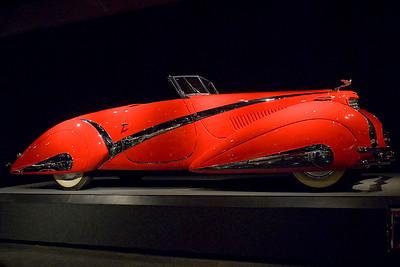 Blackhawk Automotive Museum 1937 Cadillac  V-16 Series 37-90 Hartmann Cabriolet