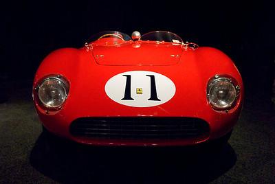 Blackhawk Automotive Museum 1956 Ferrari 625 LeMans Spyder Touring  http://en.wikipedia.org/wiki/Ferrari_Monza#625_LM