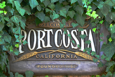 Port Costa, established in 1883.  Once a bustling water front and home to the large train ferries, The Solano and The Contra Costa.  Port Costa Website:  http://www.portcosta.com/new_page_5.htm   Link to information about the train ferries, The Solano and The Contra Costa:  http://cprr.org/Museum/Solano/