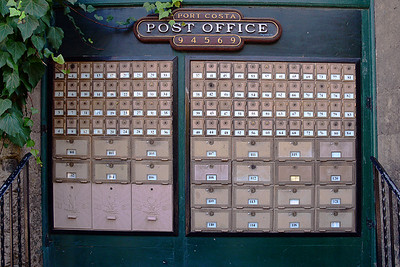 Port Costa Post Office Boxes