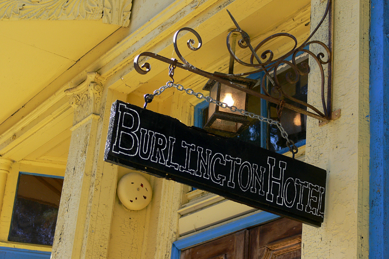 "Burlington Hotel, Port Costa, CA<br /> <br /> Claims to have been a brothel in it's hey day.  It's highly likely since Port Costa was <br /> once a bustling transportation center (trains and ferries) town.<br /> <br /> Yelp reviews:<br /> <br />  <a href=""http://www.yelp.com/biz/PZ_cvAy19HJuSa9PONiNUA"">http://www.yelp.com/biz/PZ_cvAy19HJuSa9PONiNUA</a>"