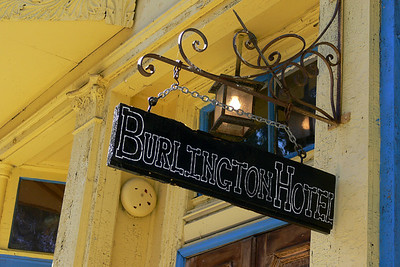 Burlington Hotel, Port Costa, CA  Claims to have been a brothel in it's hey day.  It's highly likely since Port Costa was  once a bustling transportation center (trains and ferries) town.  Yelp reviews:  http://www.yelp.com/biz/PZ_cvAy19HJuSa9PONiNUA