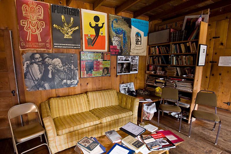 Ed Ricketts' Living Room