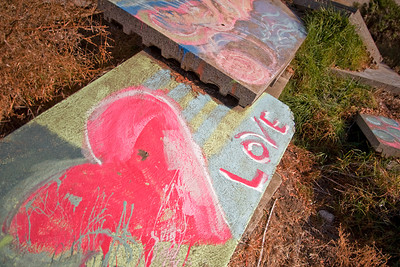Slab Love  Albany Bulb, Eastshore State Park, Albany, CA