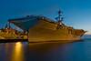 Night Hornet<br /> <br /> USS Hornet, Alameda, CA