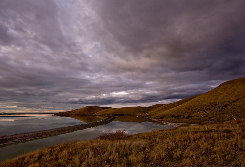 Clouds Over Coyote Hills, Fremont, CA
