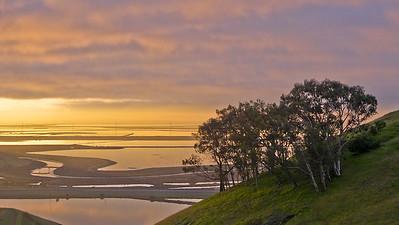 Coyote Hills Sunrise, Fremont, CA