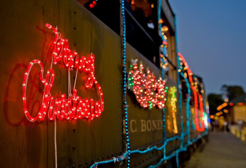 Merry Christmas from the Niles Canyon Railway