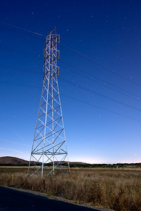 Power Lines, Coyote Hills, Fremont, CA