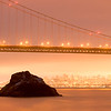 Golden Gate Bridge and Rock Outcrop