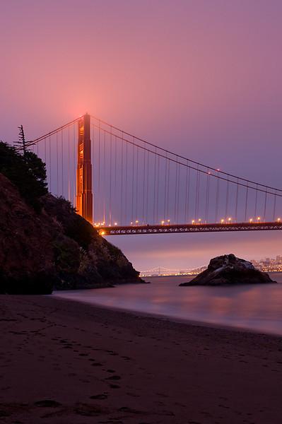 Golden Gate Bridge, North Tower