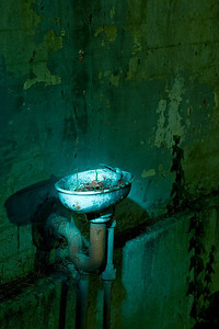 Decommissioned Water Fountain  Mare Island - Nocturnes Workshop