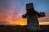 Radar Sunset<br /> <br /> Hill 88, Golden Gate National Recreation Area