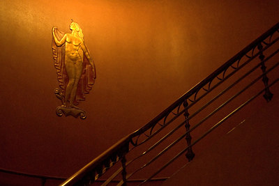 Staircase to Balcony Level