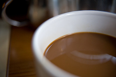 Start out the day with a rich cup of coffee at Brenda's French Soul Food.  http://www.frenchsoulfood.com/