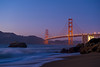 Blue and Gold<br /> <br /> Baker Beach, San Francisco