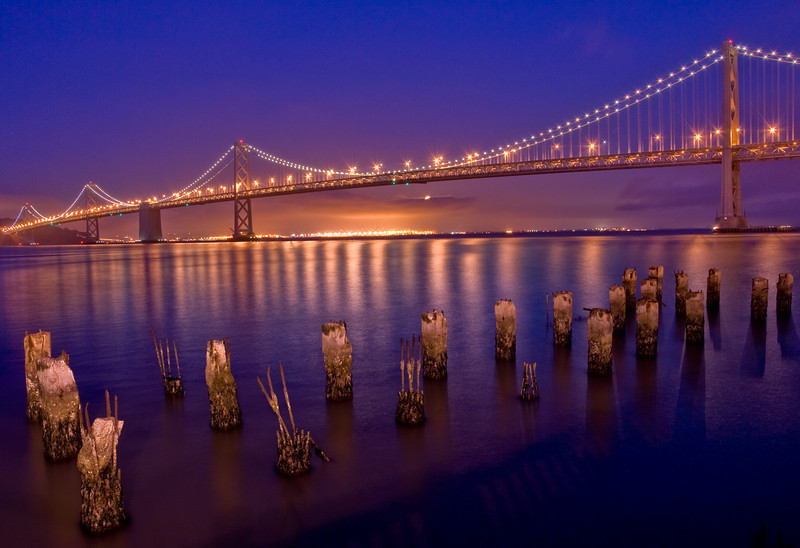 Bay Bridge Pilings