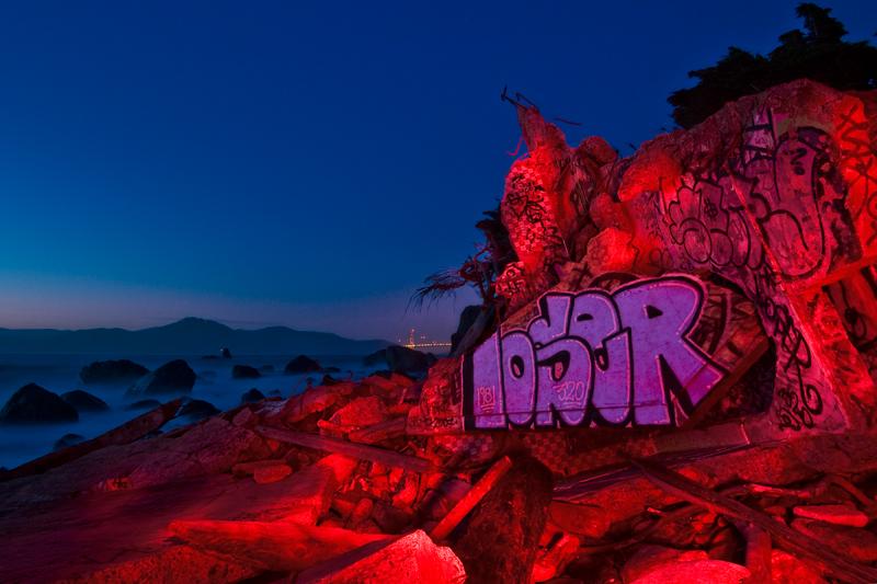 Mile Rock Beach, San Francisco, CA