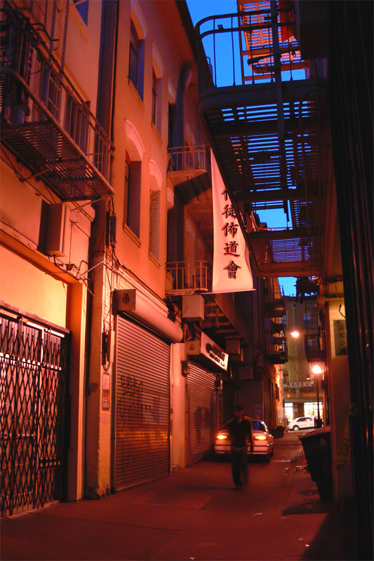 Ross Alley, Chinatown, San Francisco