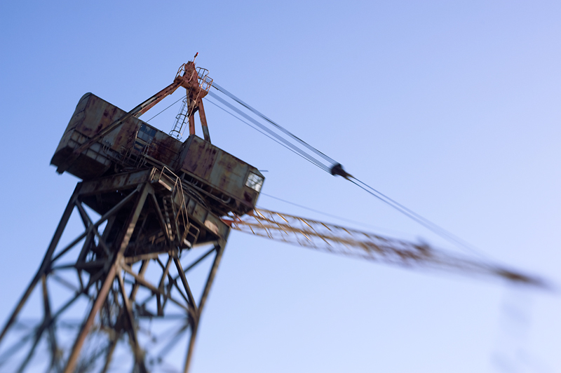 Alameda Crane<br /> Alameda, CA<br /> <br /> Crane adjacent to the Alameda Ferry Terminal