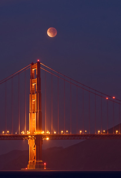 Golden Gate Moon