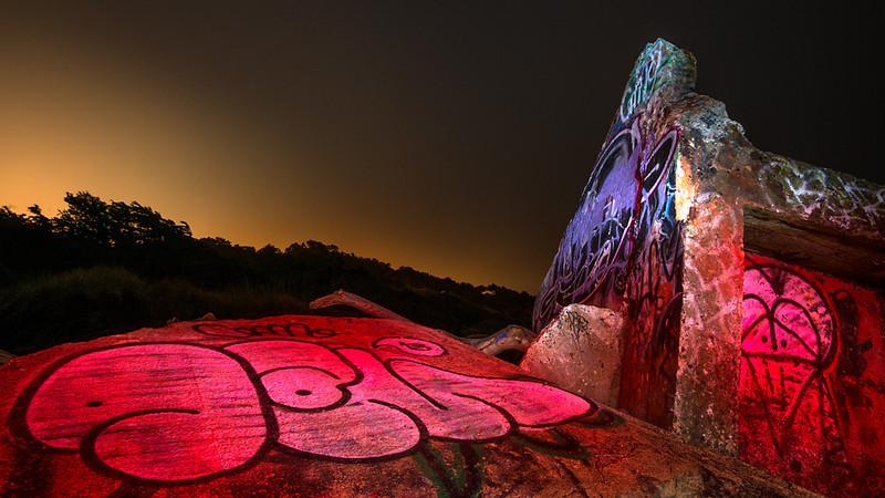 Mile Rock Graffiti