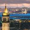 Berkeley Campanile and the SF Skyline