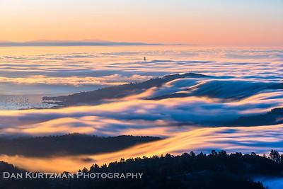 Tam Fog Waves Sunrise