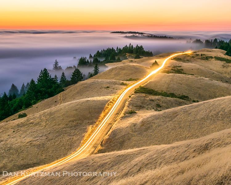 Tam Ridgecrest Light Trails