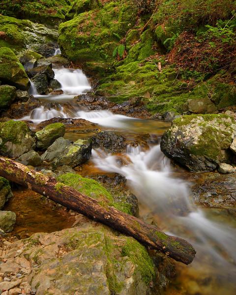 Cascades, Cataract Falls Marin County California