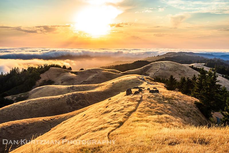 Golden Sunset on Mt. Tam